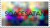 SqaceSatan fan stamp by 11Doctors