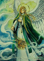 St.Sealtiel - the Archangel by Dark-kanita