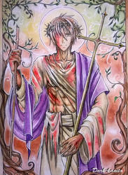Songs of the Suffering Servant (The fourth song) by Dark-kanita
