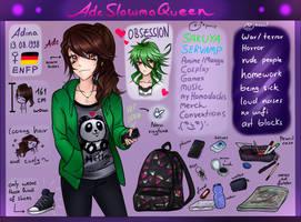meet the artist ! ADE by AdeSlowmoQueen
