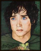 Frodo's Burden - Jan 2017 by JeanMarieArt