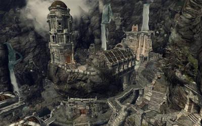 The City of Markarth by iamjcat