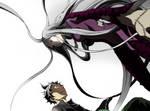 Shiro's Terrifying Presence - Deadman Wonderland by iamjcat