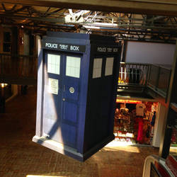 Floating Tardis II by rainrivermusic