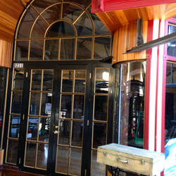 Glass Doors in Trolley Square by rainrivermusic
