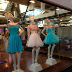 Fancy Mannequins by rainrivermusic