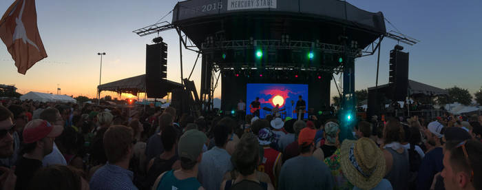 Tycho at Free Press Summer Fest by helloandre