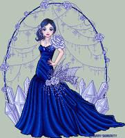 Crystal Rose by FallenSunrise