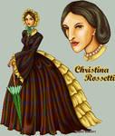 Christina Rossetti by FallenSunrise