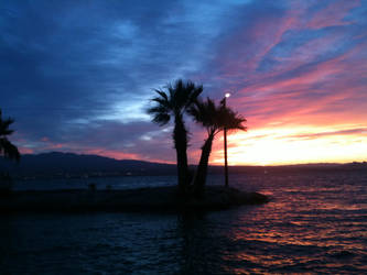 Views of Lake Havasu by satallite