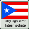 Puerto Rican Spanish Language Level INTERMEDIATE by IndieRockerBliss