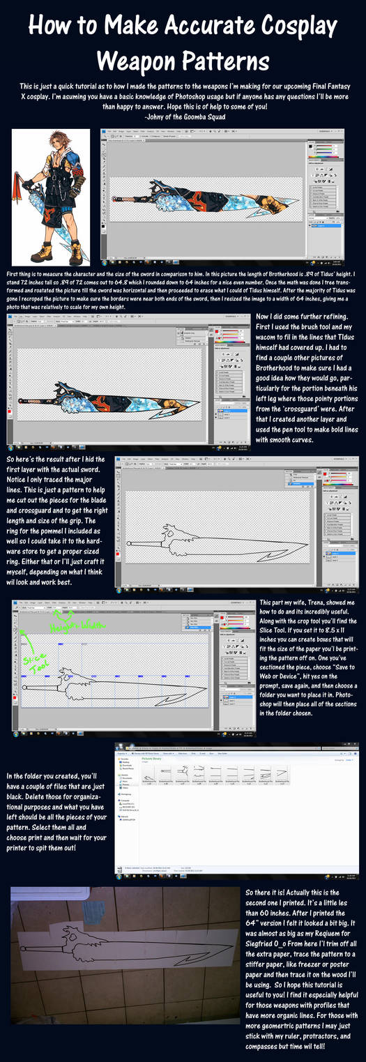 Scale Cosplay Weapon Tutorial By Goomba Squad On Deviantart