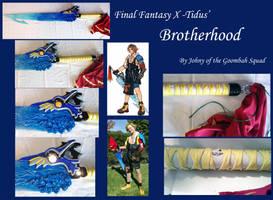 Final Fantasy X - Tidus' Broterhood by Goomba-Squad