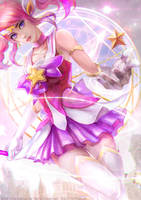 Fan Art ! Star Guardian Lux by OrekiGenya