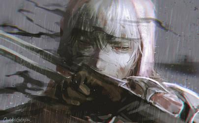 ZED FanArt  ! [Sor I can't  lead to the Victory  ] by OrekiGenya