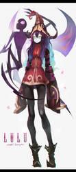 The Fae Sorceress LULU FanArt! by OrekiGenya