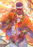 Muhammad Avdol X MAGICIAN RED by OrekiGenya