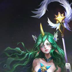 Fan Art ! Star Guardian soraka by OrekiGenya