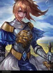 commission - mobile game arts by OrekiGenya