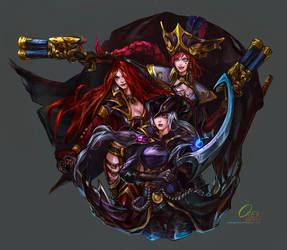 League Of Legends FanArt by OrekiGenya