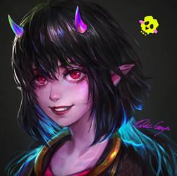 Avatar commission by OrekiGenya