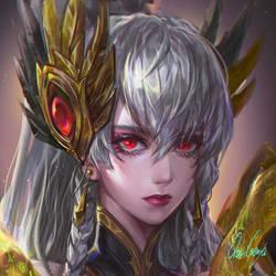 FanArt commission - Irelia by OrekiGenya