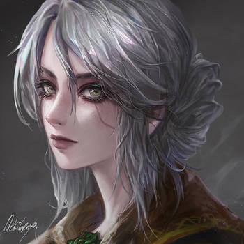 The Witcher - ciri FanArt by OrekiGenya
