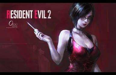 resident evil 2 remake Fanart by OrekiGenya