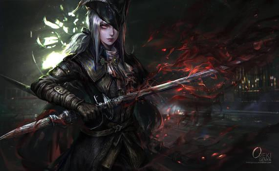 Bloodborne Lady Maria by OrekiGenya