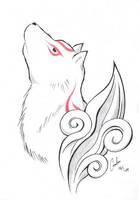 Okami: Ammy by Carro-chan
