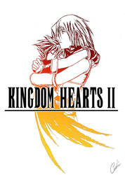 KH2_FF8: Hold me... by Carro-chan