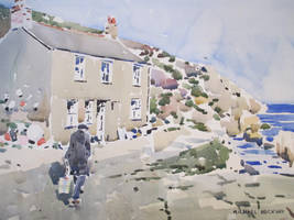 Mum at Penberth by MichaelHocking