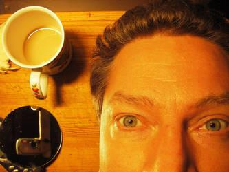 coffee is break by lioncat