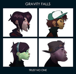 Gravity Falls - Demon Days by Radadinator