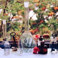Dreams in bottles. by Holunder