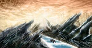 Through the Galactic Scrapyard by IFoldBooks