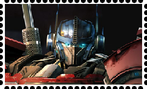 TFU Optimus Prime Stamp by WOLFBLADE111