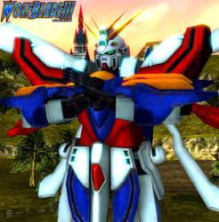 Burning Gundam by WOLFBLADE111