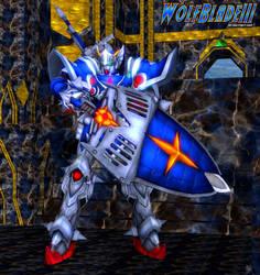 A Gundam Knight in Shining Armor by WOLFBLADE111