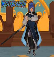 Keyblade Master Aqua by WOLFBLADE111