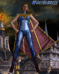 The Girl of Steel. by WOLFBLADE111