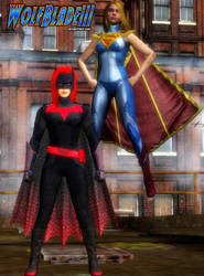 We'd Make a Great Team. World's Finest. by WOLFBLADE111