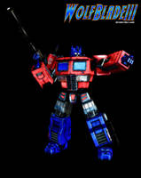 Optimus Prime by WOLFBLADE111