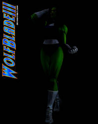 The Sensational She-Hulk by WOLFBLADE111