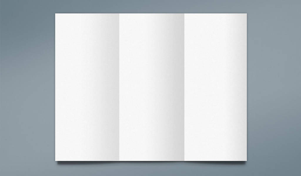 Free Trifold Mockup for Photoshop by Graphicadi