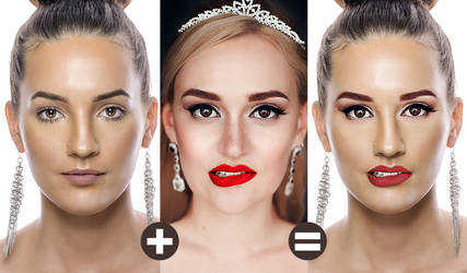 Face Swap Photoshop Tutorial by Graphicadi