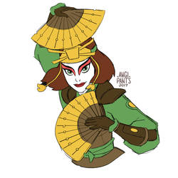 Suki - Kyoshi Warrior by angi-pants