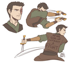 Zuko Alone Sketches by angi-pants