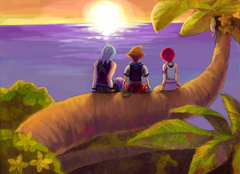 Kingdom Hearts: Another World by c-dra