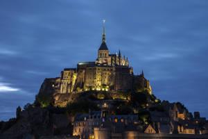 Mont Saint Michel by Balrogofchaos